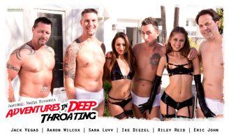 Adventures in Deep Throating - Riley Reid and Sara Luvv
