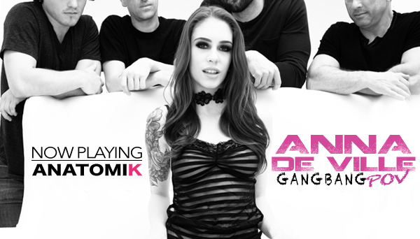 Fetish Porn - Anna Deville Gangbang POV Creampie