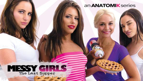 Adriana Chechik, Sarah Vandella, Gabriella Paltrova, Hope Howell in The Last Supper