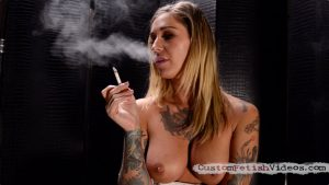 Smoking Fetish Video - Kleio Valentien smokes cigarettes
