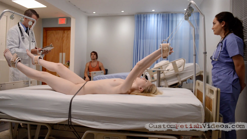 Medical Fetish Exam - Lily Rader gets an uncomfortable exam