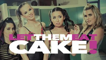 Messy Girls 6: Let Them Eat Cake! Starring Sasha Heart, Melissa Moore, Jillian Jansen and Serena Blair