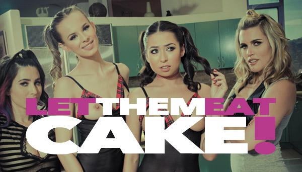 Messy Girls 6: Let Them Eat Cake! Starring Sasha Heart, Melissa Moore, Jillian Jansen and Serena Blair