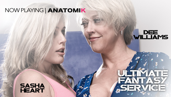 Dee Williams, Sasha Heart - Ultimate Fantasy Service - Lesbian strapon sexUltimate Fantasy Service - Lesbian strapon sex