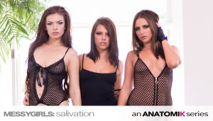Adriana Chechik, Zoe Wood, Hope Howell - Messy Girls Salivation